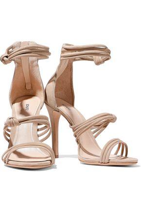 SCHUTZ Suely knotted nubuck sandals