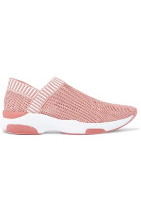 SCHUTZ Stretch-knit slip-on sneakers