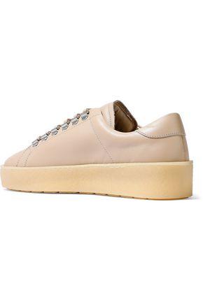 AXEL ARIGATO Leather platform sneakers