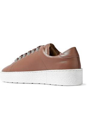 AXEL ARIGATO Leather platform sneakers