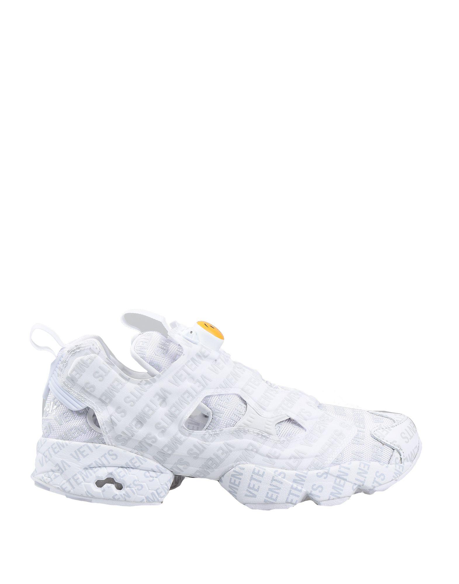 REEBOK x VETEMENTS Низкие кеды и кроссовки кроссовки reebok cl nylon color