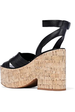 SIGERSON MORRISON Becca leather platform sandals