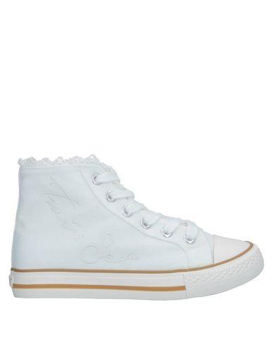 Фото - Высокие кеды и кроссовки от TWINSET белого цвета