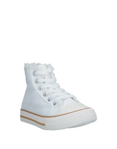 Фото 2 - Высокие кеды и кроссовки от TWINSET белого цвета