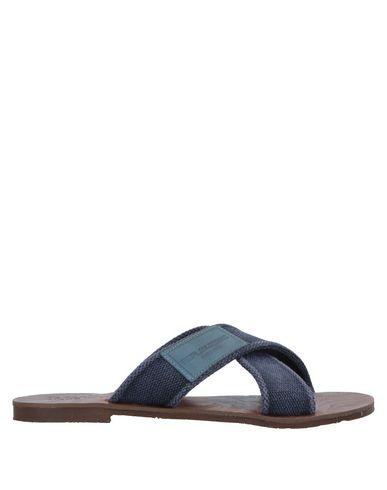 Купить Мужские сандали  синего цвета