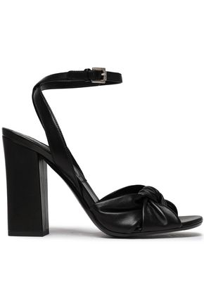 MICHAEL KORS COLLECTION Knotted leather sandals