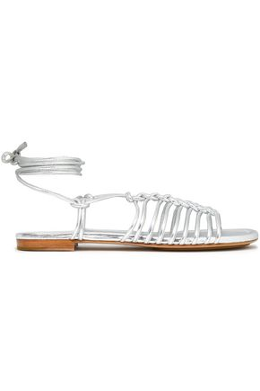 MICHAEL KORS COLLECTION Metallic leather sandals