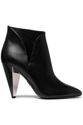 MICHAEL KORS COLLECTION Leather ankle boots