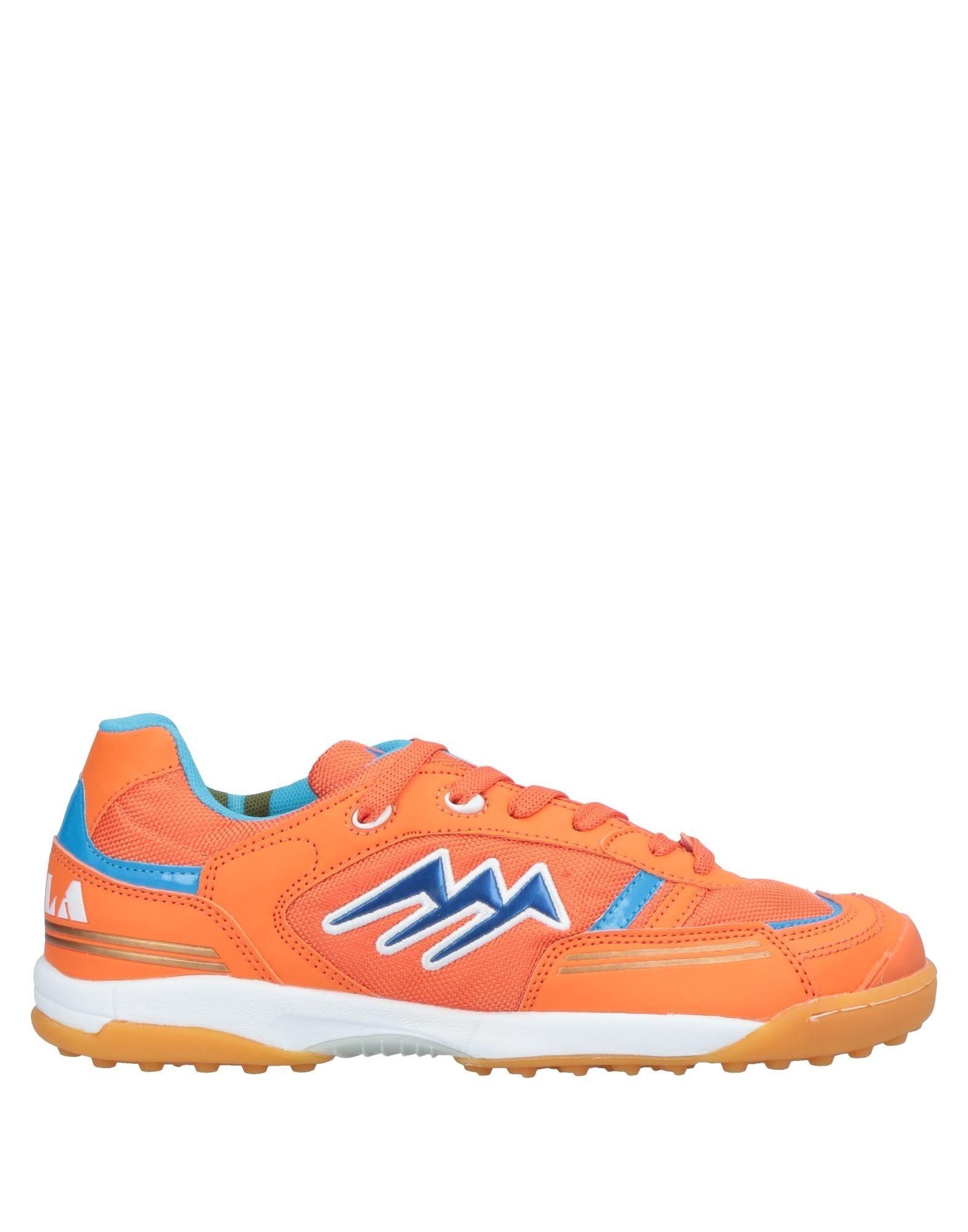 《セール開催中》AGLA メンズ スニーカー&テニスシューズ(ローカット) オレンジ 40 紡績繊維