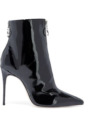 SCHUTZ Kenia patent-leather ankle boots