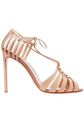 FRANCESCO RUSSO Leather sandals