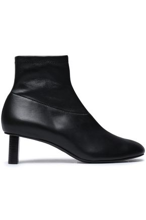 JOSEPH Leather sock boots