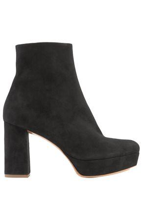 MANSUR GAVRIEL Suede platform ankle boots