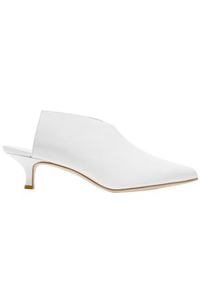 TIBI Jase leather mules