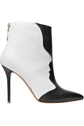 MALONE SOULIERS Camille two-tone leather ankle boots