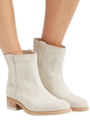 LAURENCE DACADE Rindy suede ankle boots