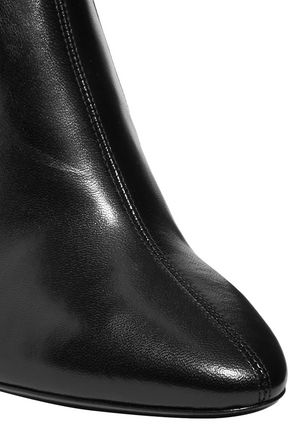 d52a7906dd2 Loulou leather over-the-knee boots | SAINT LAURENT | Sale up to 70 ...