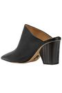 PAUL ANDREW Ester leather mules