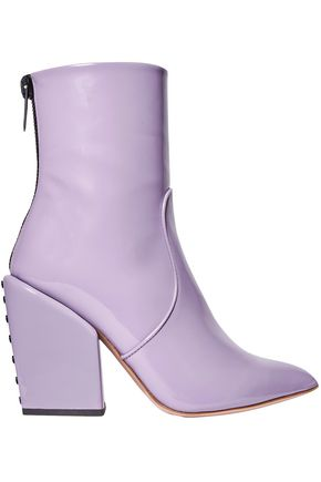 PETAR PETROV Solar patent-leather ankle boots