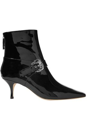 DORATEYMUR Saloon buckled patent-leather ankle boots