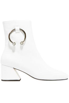 DORATEYMUR Nizip embellished leather ankle boots