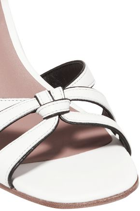 DIANE VON FURSTENBERG Felicity knotted leather sandals