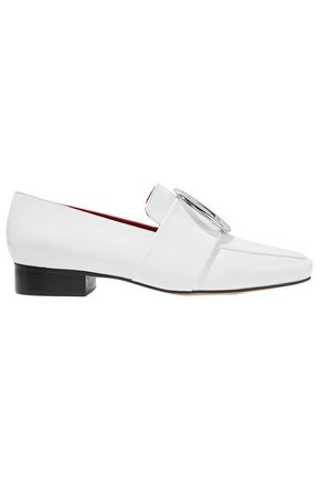 DORATEYMUR Harput embellished patent-leather loafers