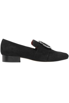 DORATEYMUR Embellished velvet loafers