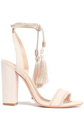 SCHUTZ Primm tasseled suede sandals