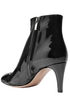 GIANVITO ROSSI Aida 70 patent-leather ankle boots