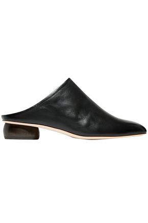 REJINA PYO Gaby leather mules