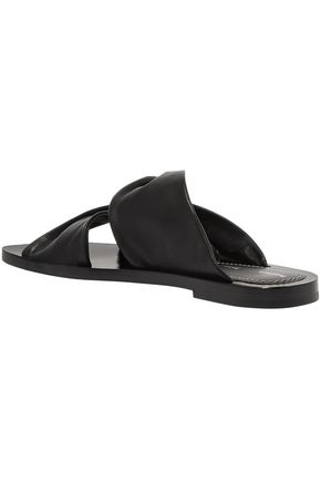 PROENZA SCHOULER Twisted leather slides