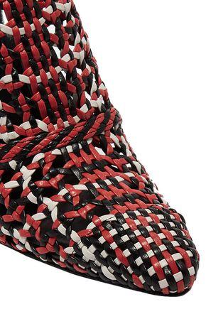 ALTUZARRA Davidson woven leather mules