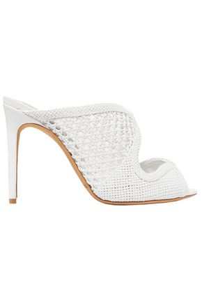 ALEXANDRE BIRMAN Tanny woven leather mules