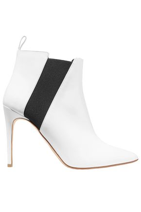 RUPERT SANDERSON Critic patent-leather ankle boots