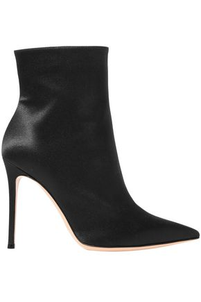 GIANVITO ROSSI Arles 100 satin ankle boots