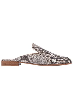 GIAMBATTISTA VALLI Python slippers