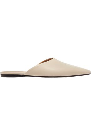 ISABEL MARANT ÉTOILE Giacomo leather slippers