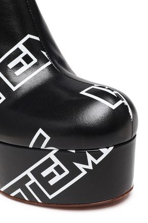 VETEMENTS レザー ブーツ