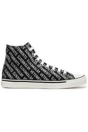 VETEMENTS Canvas high-top sneakers
