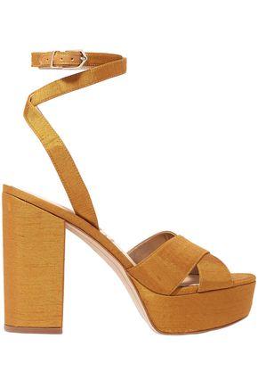 SAM EDELMAN Mara dupion platform sandals