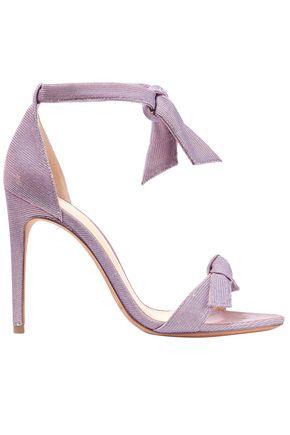 ALEXANDRE BIRMAN Knotted metallic sandals