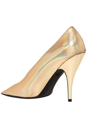 STELLA McCARTNEY Metallic vinyl pumps