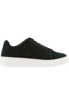 ALAÏA Velvet sneakers