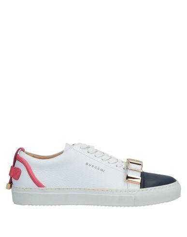 Фото - Низкие кеды и кроссовки от BUSCEMI белого цвета