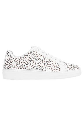 AXEL ARIGATO Laser-cut leather sneakers