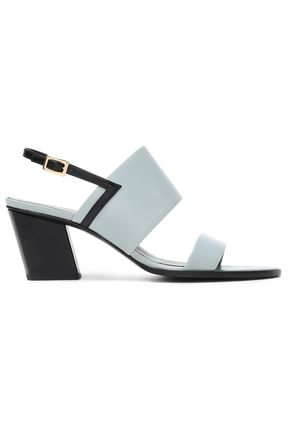 ROGER VIVIER Two-tone leather sandals