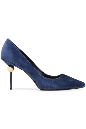 Suede Pumps by Roger Vivier