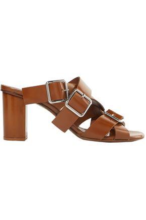 JIL SANDER Buckle-embellished leather sandals