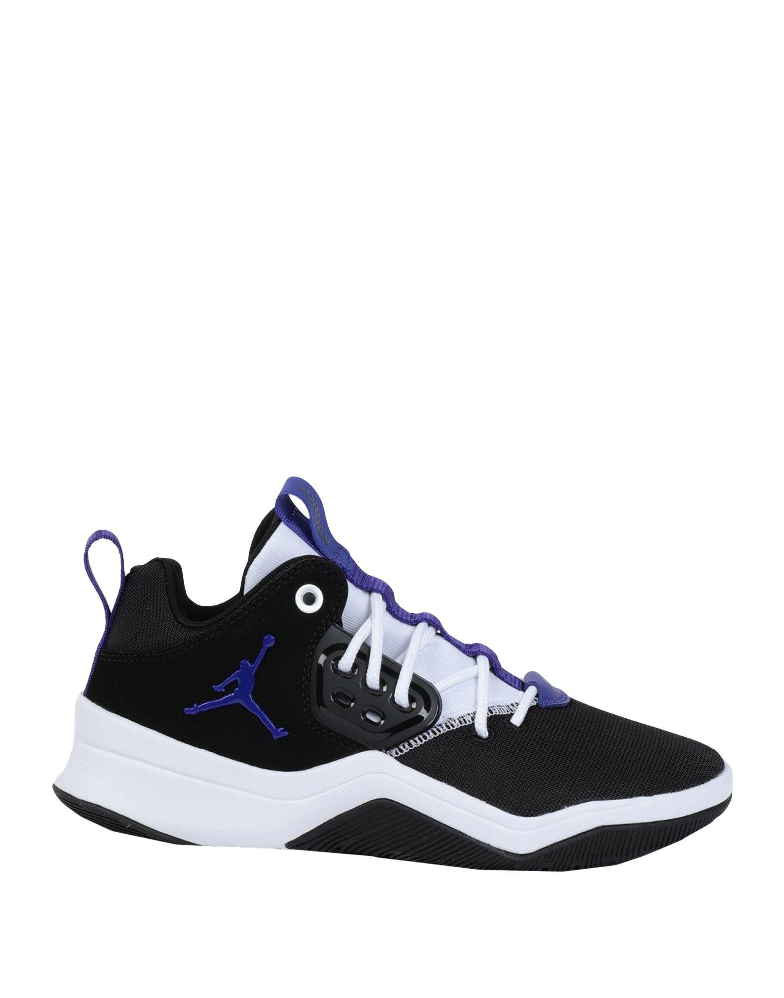 JORDAN Низкие кеды и кроссовки баскетбольные кроссовки nike air jordan air jordan retro gs black infrared aj6 384665 023